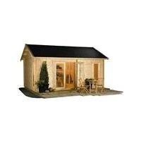 garden log cabin